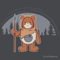 Care Bear Ewok - Star Wars