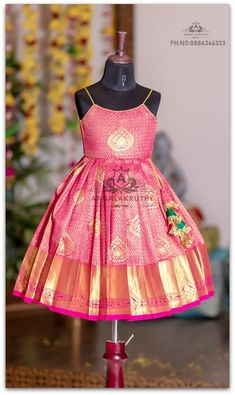 Angalakruthi-Custom designer boutique in Bangalore We. Baby Girl Dress Patterns, Baby Dress Design, Frock Design, Mom And Baby Dresses, Dresses Kids Girl, Girl Outfits, Kids Frocks Design, Baby Frocks Designs, Kids Dress Wear