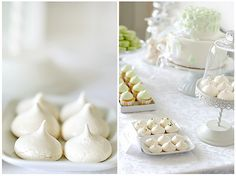 Dessert table -meringues