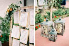 Calligraphy - Letters by Jennifer //   Rachel Solomon Photography Blog | El Chorro Wedding – Marian and Mark | http://blog.rachel-solomon.com