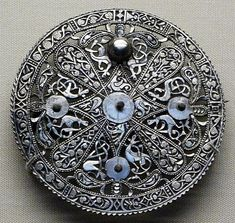 silver disk brooch, British Museum, 1980,1008.1 BM page from the Pentney Hoard
