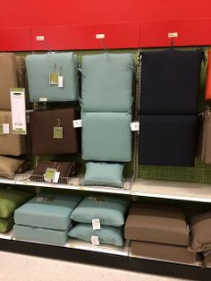 Target: 2014 Outdoor Furniture Cushions #design #colors #trends