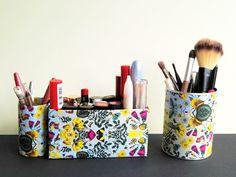creative drizzle : Blumenbett für Make up