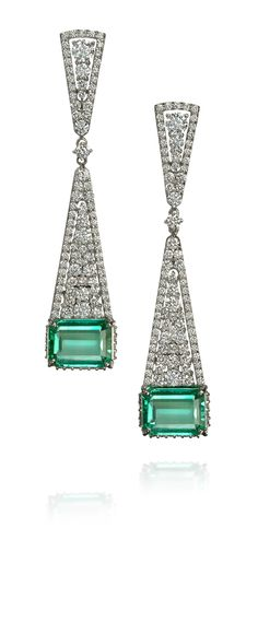336591cfca5 Amsterdam Sauer Earrings - Atrium Earrings - In 18-kt white gold ...