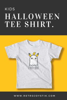 435465d67 Perfect Halloween kids tee shirt for Pikachu or Pokemon gaming fans. Game  on gamers!