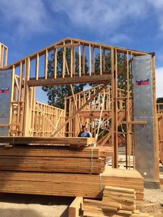 Behind the scene of a Smith Brothers La Jolla Home being built #lajolla #newhome #construction