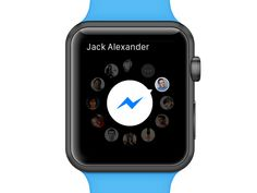 Facebook Messenger for Apple Watch (Concept)