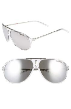 4fd5a60d71 Carrera Eyewear  Hots  64mm Aviator Sunglasses available at  Nordstrom  Sunglasses Outlet