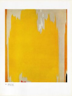 clyfford still. reminds me of ikat