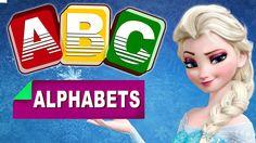 ABC Songs For Children -Disney Frozen Elsa Singing Alphabet Songs for Ch...