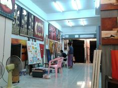 At work in In Gallery