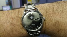 The Orient Bambino Version 3 in Graphite Grey - orientwatchusa.com/er2400ka
