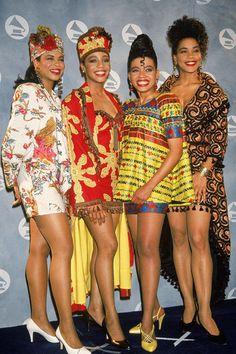 En Vogue, 1991 ~African fashion, Ankara, kitenge, African women dresses, African prints, Braids, Nigerian wedding, Ghanaian fashion, African wedding ~DKK