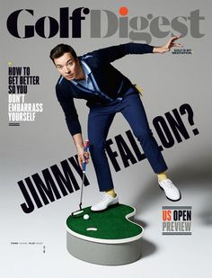 Thanks to Jimmy Fallon I could learn to like golf.