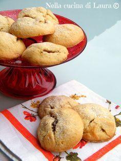 biscotti cuor di mela - nella cucina di laura Italian Cookie Recipes, Italian Cookies, Italian Desserts, Pastry Recipes, Biscotti Biscuits, Biscotti Cookies, Yummy Cookies, Biscotti Recipe, Biscuit Dessert Recipe