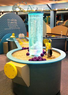 Telus World of Science - water table