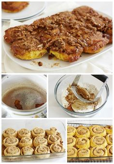 No yeast, no rising! These Pumpkin Brown Butter Streusel Sticky Buns are so easy & yummy!