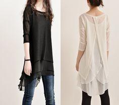 Marokkanischen Brise - Schicht Tunika-Kleid (Q5110 von idea2lifestyle auf DaWanda.com