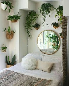 3 Safe Clever Hacks: Natural Home Decor Bedroom Headboards natural home decor bedroom loft.Natural Home Decor Ideas Backyards natural home decor living room sofas.Natural Home Decor Inspiration Bedrooms. Bohemian Bedrooms, Boho Bed Room, Bohemian Style Bedding, Aesthetic Rooms, Aesthetic Plants, Aesthetic Sense, Natural Home Decor, Natural Wall Art, Natural Homes