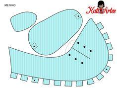 Zapatos de Bebé para Imprimir