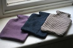 Week #44 Cozy Hot Water Bottle Covers - raising funds for Macmillan Cancer Support