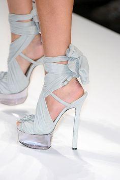 kinda look like stripper heels ; but they're cute :)