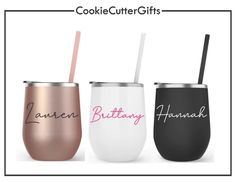 Personalized Wine Tumblers - Stainless Steel Wine Tumbler with Lid - Bachelorette Tumblers - Bachelorette Wine Tumbler Favors – CookieCutterGifts Tumblers With Lids, Wine Tumblers, Bridesmaid Proposal Gifts, Personalized Wine, Wine Parties, Bachelorette Cruise, Adhesive Vinyl, Wine Glass, Wedding Planning
