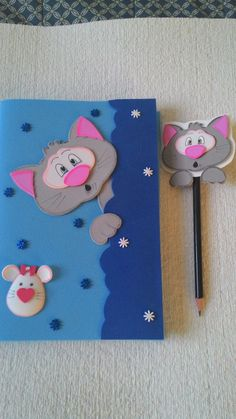 File Decoration Ideas, Diary Decoration, Foam Sheet Crafts, Foam Crafts, Pen Toppers, Notebook Cover Design, Toilet Paper Crafts, Kids Room Murals, Watercolor Paintings For Beginners