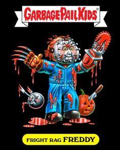 Garbage Pail Kids - Fright Rag Freddy