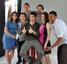 """Cast of """"Grimm"""" @Bruce Deniston NBC"""