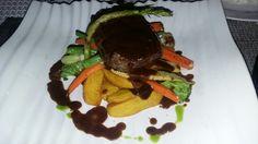Steak! Favourite of me!