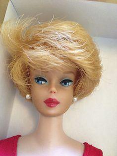 Blonde Bubble Cut Barbie