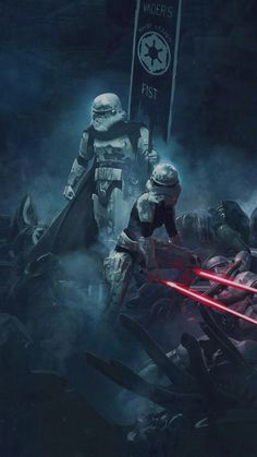 If stormtroopers had lightsabers as originally intended.