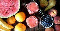 #sok #juice #arbuz #watermelon #marchew #carrot #bananas #pomarańcze #oranges #oQchnia #wyciskarka #food #healthy #juicer #recipes