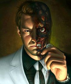 The villain is half bad, but this portrait isn't half bad.