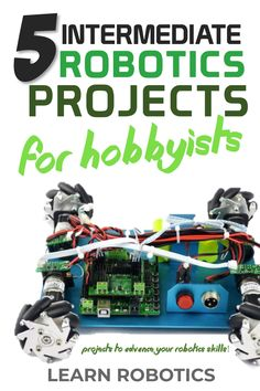 You're past the beginner's lessons when it comes to Arduino robots. If you're struggling to decide what projects would be a cool addition to your robot, then you'll want to read this article. Mechatronics Engineering, Electronic Engineering, Robotics Projects, Arduino Projects, Diy Projects, Electronics For You, Electronics Projects, Diy Tech Gadgets, Robot Programming