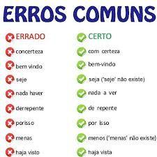 Imagem relacionada Portuguese Grammar, Portuguese Lessons, Portuguese Language, Learn Brazilian Portuguese, Language Study, Student Life, Idioms, Study Tips, Vocabulary