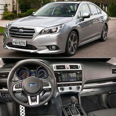 Subaru Legacy 2017 Vendido no Brasil em versão única o sedã japonês é eequipado com o motor Boxer 3.6R de 6 cilindros e 24 válvulas que atinge a potência máxima de 256 cv a 6.000 rpm e torque de 350 Nm a 4.400 rpm. O câmbio é automático do tipo CVT e a tração é integral. Possui três modos de condução: Intelligent (I) Sport (S) e Sport Sharp (S#) que adequam o comportamento do motor câmbio e outros componentes de acordo com a escolha do motorista para cada situação.  O Legacy tem 4.796 mm de…