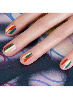 Best Instagrams - Jinsoon Choi negative space nail art