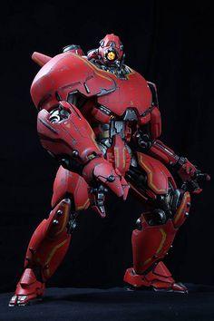 "Authentic NECA Pacific Rim Kaiju Knifehead 18/"" Action Figure avec lumières DEL"