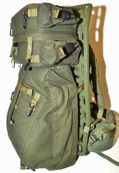 Canadian Army Rucksack   Cargo Pack   Pack Board frame  d18ef3b179