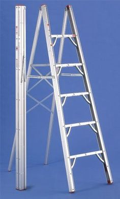 6 Foot Single Sided Compact Folding Ladder - Amazon.com