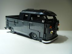 lego vw split screen crew cab | by redfern1950s