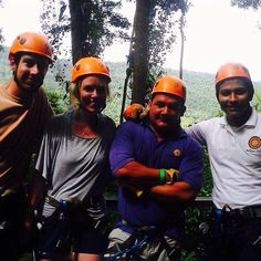 Ziplining is an amazing way to explore the jungles of #Belize with #BelizeanDreams