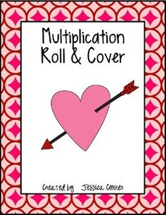 Roll & Cover - Valentines Day Edition FREEBIE