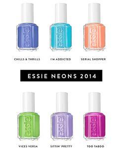 Essie 2014  -pinned by PatriZia-