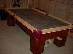 Pool Table Build
