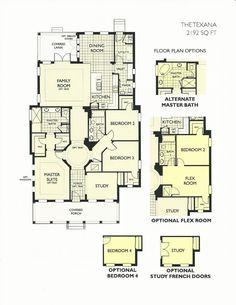 Oakland Park Texana Floor Plan In Winter Garden FL