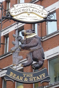 The Bear Staff, London, England