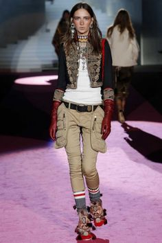 Dsquared ready-to-wear autumn/winter '15/'16: